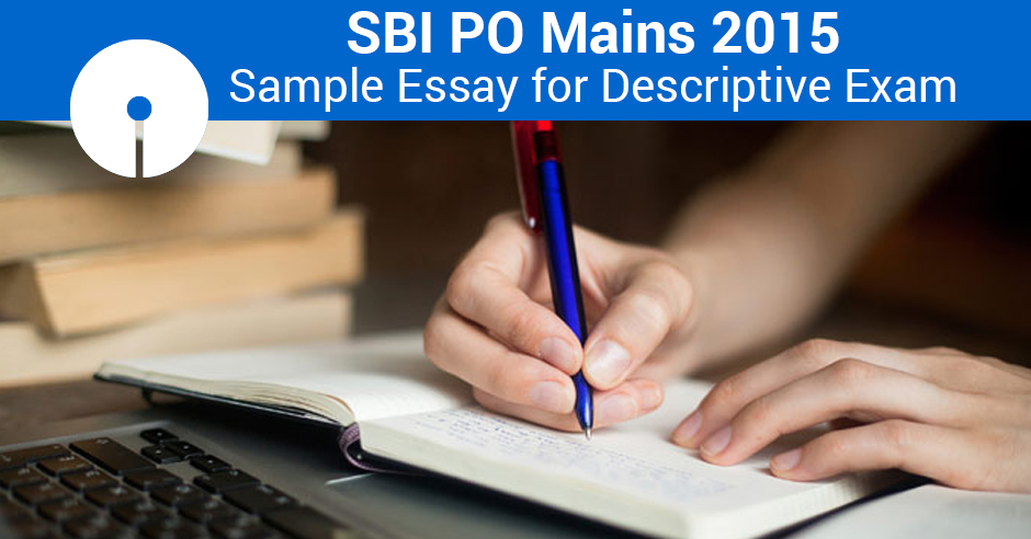 Descriptive essay for bank po exams