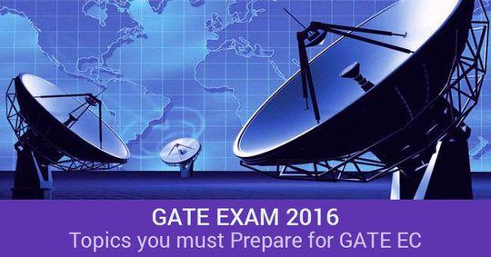 Topics you must be prepared for GATE 2016 EC Paper