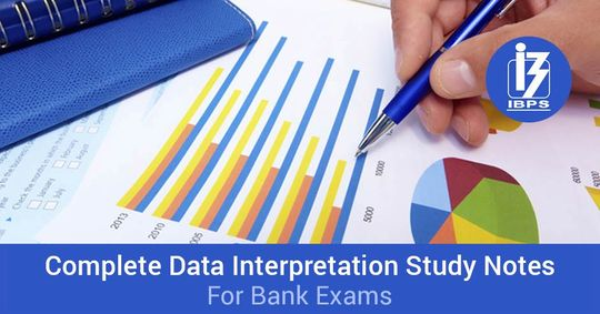 Complete Data Interpretation Study Notes For Bank Exam