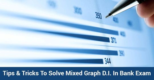 Tips & Tricks To Solve Mixed Graph D.I. In Bank Exam